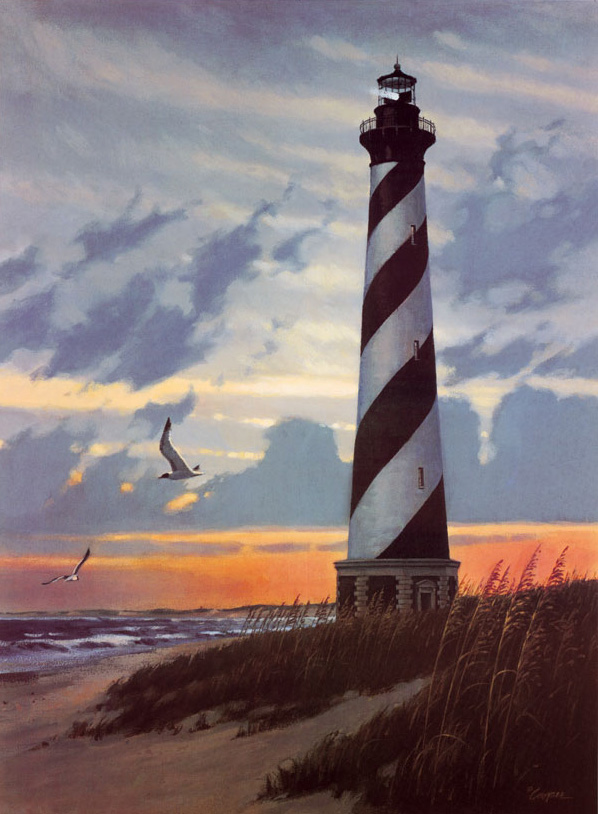 Cape Hatteras Lighthouse Puzzle. Home / 550 Piece Puzzles / Cape Hatteras  Lighthouse ...