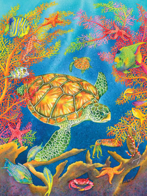 Turtle Reef Puzzle Jigsaw Puzzles
