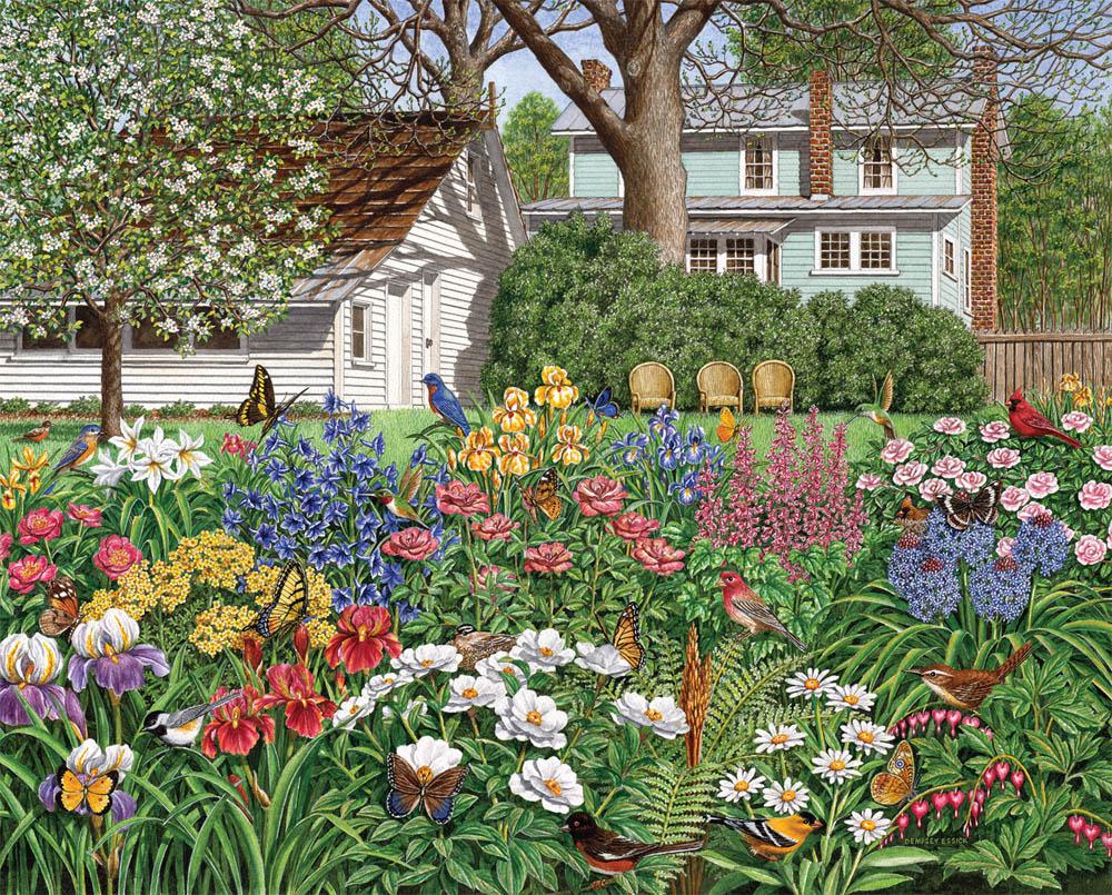 Secret Garden Puzzle Jigsaw Puzzles