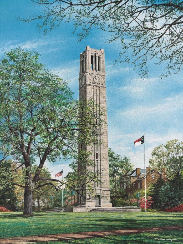 Memorial Bell Tower X