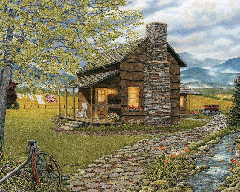 A Smoky Mountain Morning Jigsaw Puzzle