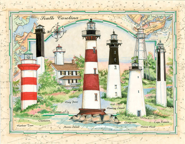 10524 Lighthouses of South Carolina copy