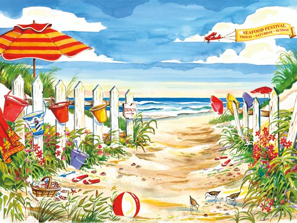 10529 Beach Time