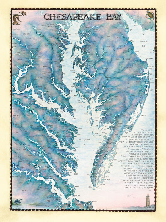 20502 Chesapeake Bay Waterways