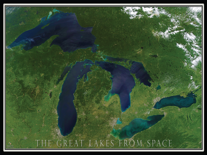 20603 Great Lakes from Space