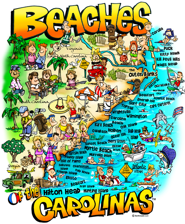 30602 Beaches of the Carolinas