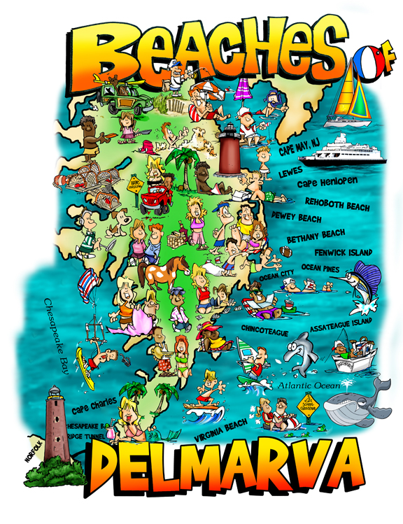 30606 Beaches of Delmarva