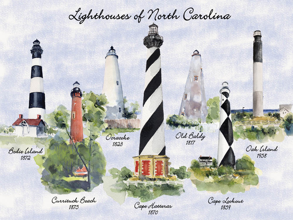 40575 Lighthouses of North Carolina