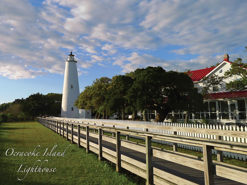 40586 Ocracoke Island Lighthouse