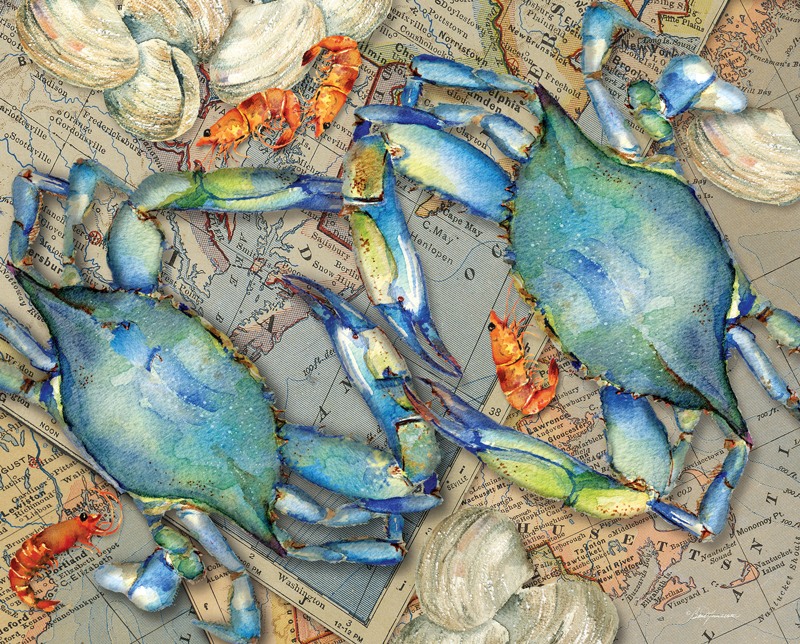 40701 Blue Crab Bounty