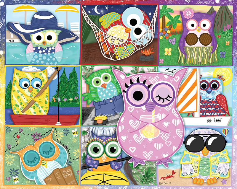 90301 Owls on Vacation