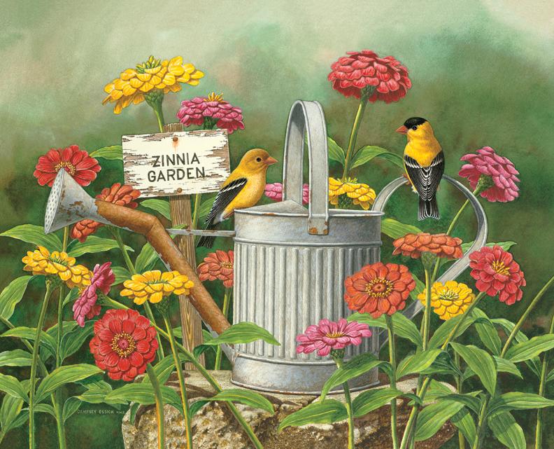 90508 Zinnia Garden